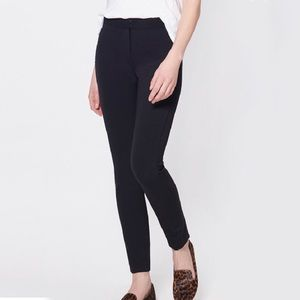 Veronica Beard Mid Rise Scuba Skinny Legging